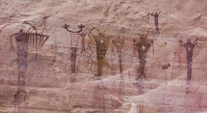 Native American Pictographs Royalty Free Stock Images