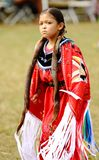 Native american pow wow dancers stock images