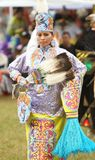 Native american pow wow dancers stock photo