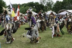 Native American Pow Wow Summer Solstice stock photography