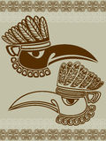 Native American raven mask Royalty Free Stock Photography