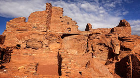 Native American Ruins at Wupatki National Monument Stock Photo