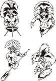 Native American Shamans Stock Image