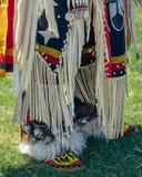 Native American Shoes, Powwow in Malibu, California stock photo