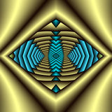Native American Symbol. Abstract fractal image resembling a Native American symbol Royalty Free Stock Photo