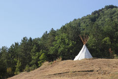 Native american tent Royalty Free Stock Image