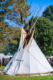 Native American tipis Royalty Free Stock Image