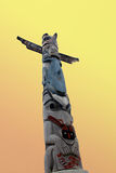 Native American Totem Pole Royalty Free Stock Photos