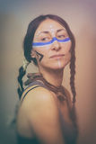 Native American Woman Royalty Free Stock Photography