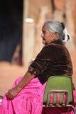 Native American woman Stock Photography