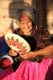 Native American woman Royalty Free Stock Image