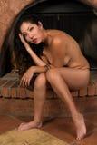 Native American woman Stock Photos