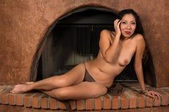 Native American woman Royalty Free Stock Photo