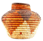 Native American Woven Basket stock images