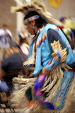 Native American Young Man. In full regalia at the LSU NASA.  The Native American Student Association Pow wow, April 9, 2011, in Baton Rouge Louisisna Stock Photo