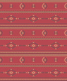 Native Americans fabric Royalty Free Stock Images