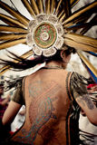 Native Aztec Dance Headwear Royalty Free Stock Images
