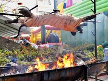 Native Barbecue in Taiwan royalty free stock photography