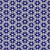 Native batik seamless watercolor artistic boho style colorful square pattern. Stock Image