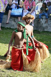 Native boys. The two native boys were part of a dance group that welcomed as to their lovely island of Lifou New Vanuatu New Caledonia in the South Pacific. in Stock Image