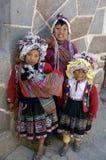 Native children of Peru royalty free stock image