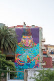 Native chilean graffiti Stock Photography