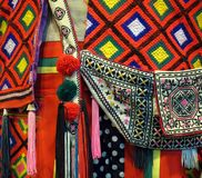 Native Costume Detail Royalty Free Stock Photo