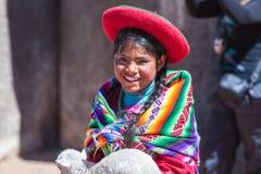 Native of Cusco stock photography