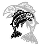 Native fish Vector Royalty Free Stock Photos