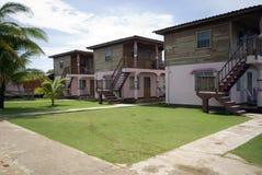 Native hotel corn island nicaragua Stock Image