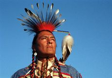 Native Indian Royalty Free Stock Images