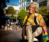 Native Indian American woman. Alaska Airlines Seafair Torchlight Paradenn1 of 6nSaturday, July 29, 2017n7:30pmnSeattle Center/DowntownnnEach year on one magical Stock Images