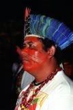 Native indian of Brazil Stock Photos