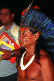Native indian of Brazil royalty free stock images