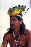 Native indian of Brazil Royalty Free Stock Image