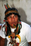 Native indian of Brazil Stock Image