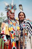 Native Indian couple Royalty Free Stock Photos