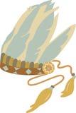 Native Indian Headress Royalty Free Stock Photo