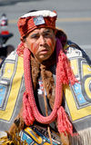 Native Indian man in traditional costume Stock Photos