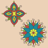 Native indian ornament, mandala. Stock Image