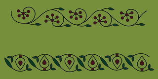 Native indian ornament, mandala. Royalty Free Stock Image