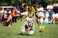 Native Indian Pow Wow Stock Image