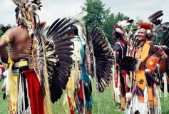 Native Indians Royalty Free Stock Image
