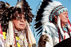 Native Indians Stock Image