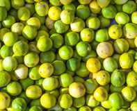 Native lemon in  market Royalty Free Stock Images