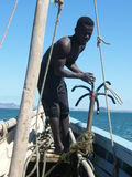 Native Malagasy Man Stock Images