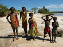 Native Malagsy Children royalty free stock photos