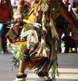 Native North American Dancer Royalty Free Stock Image