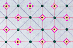 Native pattern of thai kite paper Royalty Free Stock Photo