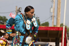 Native pow wow south dakota Stock Image